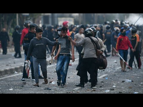 Indonesia violence: six killed, 200 injured in post-election protests