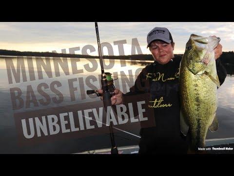 MINNESOTA Bass Fishing *unbelievable*