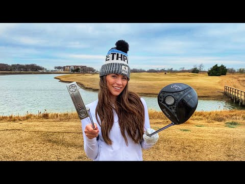 Kelsey Goes For Her Record (3 Holes) | Old American Golf Course