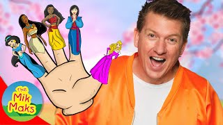 Mulan Finger Family Song | Nursery Rhymes with Disney Princess | The Mik Maks