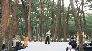 하회전통문화예술제 트로트가수 김나연님 공연