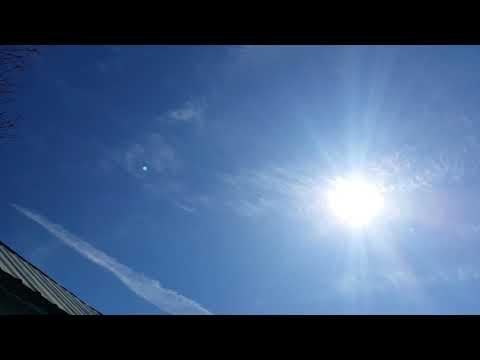 1245pm sun again