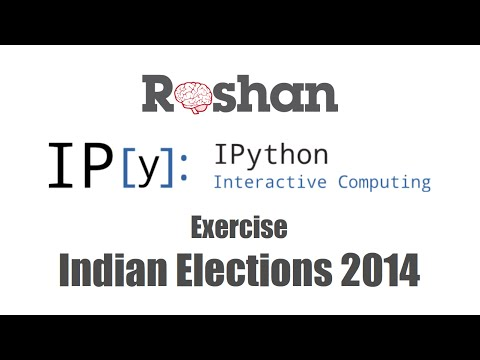 Indian Elections 2014 - IPython Notebook Tutorial (Exercise)