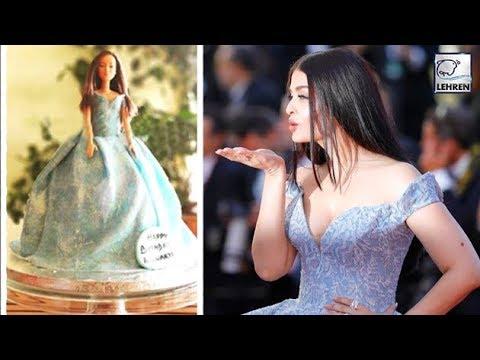 Aishwarya Rai's HUGE Birthday Cake Gifted By Abhishek Bachchan | LehrenTV