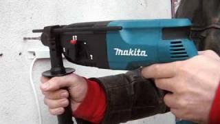 Перфоратор Makita HR2450 SDS+ , пользование