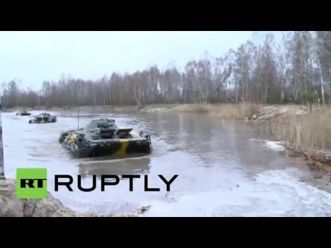 Belarus: Russian and Belarusian airborne forces conduct drills near Polish border