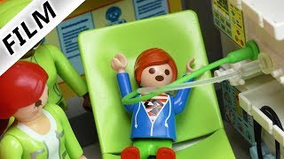 Playmobil Film Deutsch - JULIANS MANDEL-OP! OPERATION IM KRANKENHAUS! Kinderserie Familie Vogel