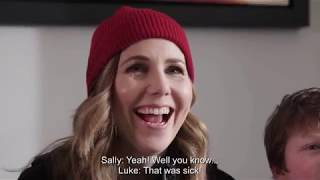 Vodafone x #FamilySquad: Gaming Bootcamp with Ali A, Tess Daly and Sally Phillips