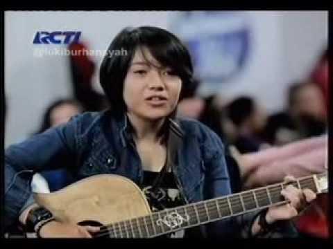 Tak lagi galau ( Drizz / Riska Afrillia ) Peserta Audisi Indonesian Idol, 27 Desember 2013