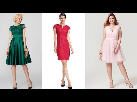 VESTIDOS BONITOS De Moda 2020 / Vestidos De Cóctel Cortos / Fashion Love