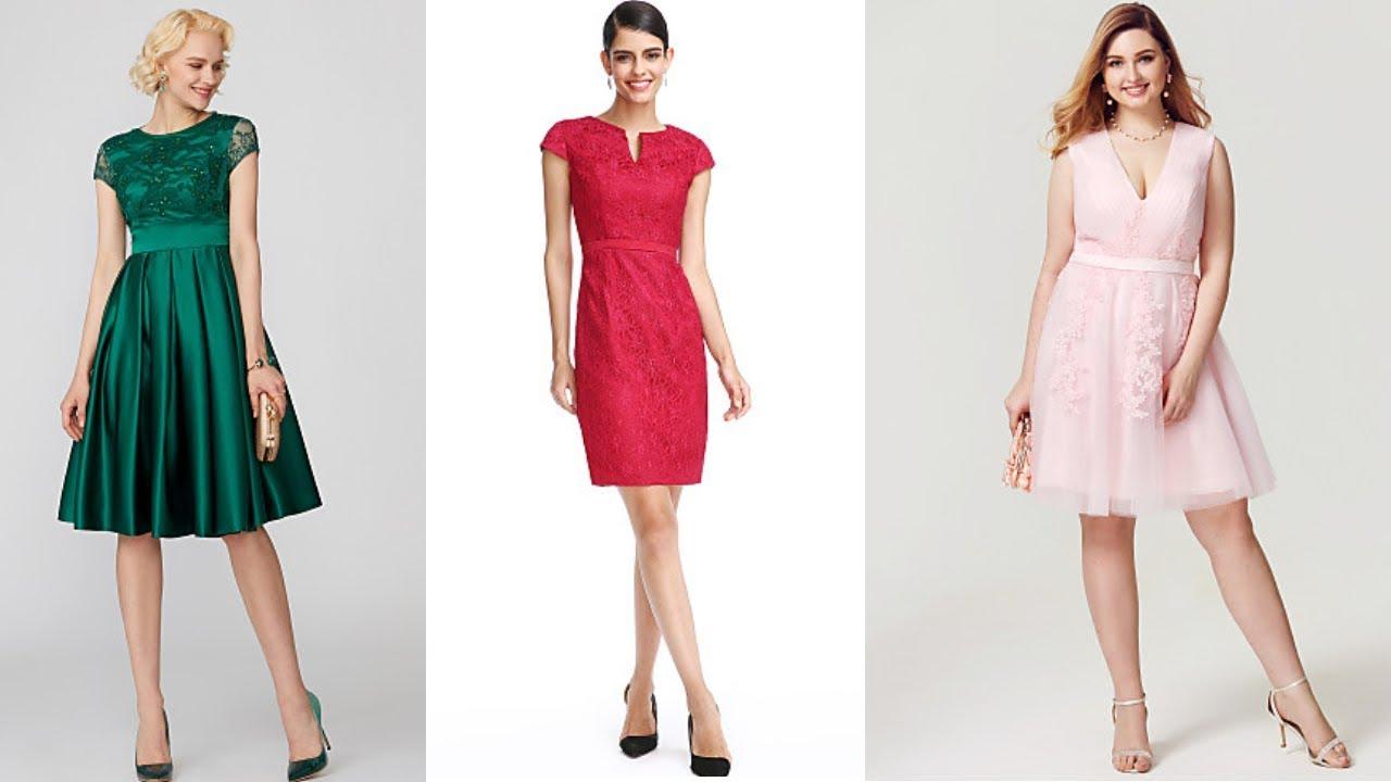 Vestidos Bonitos De Moda 2020 Vestidos De Cóctel Cortos Fashion Love