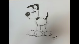 How to Draw Cartoons 1: Drawing a Dog