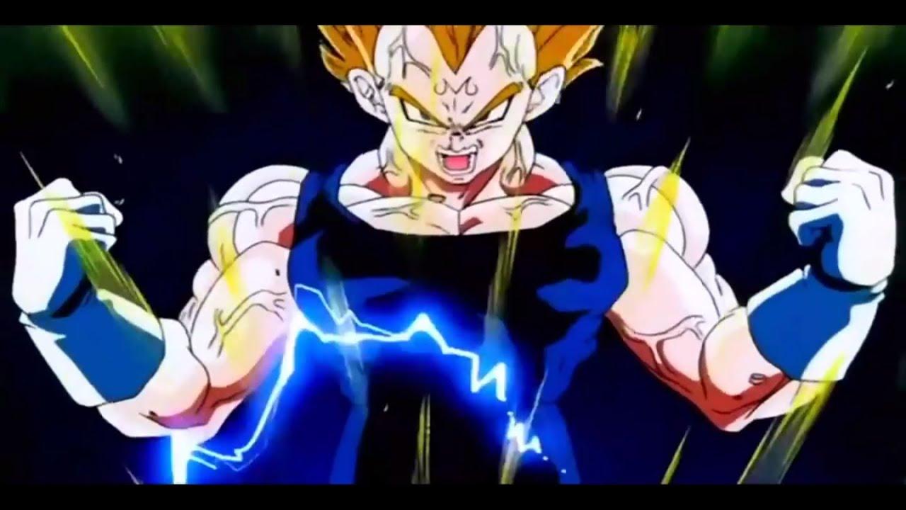 Goku vegeta go super saiyan 2 for the first time 1080p hd - Vegeta super sayen 2 ...