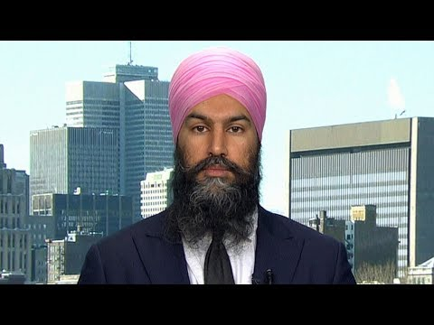 Jagmeet Singh 'deeply disappointed' after signing of CUSMA