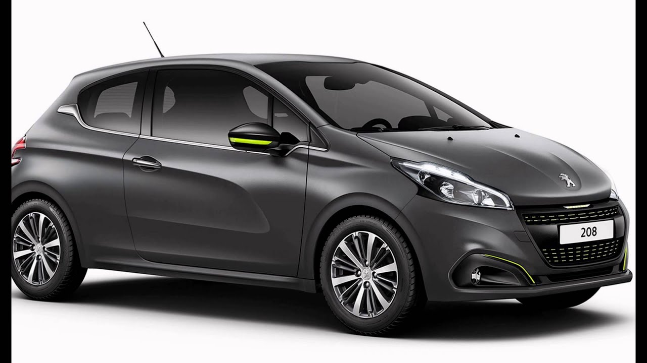 2016 peugeot 208 hurricane grey youtube. Black Bedroom Furniture Sets. Home Design Ideas