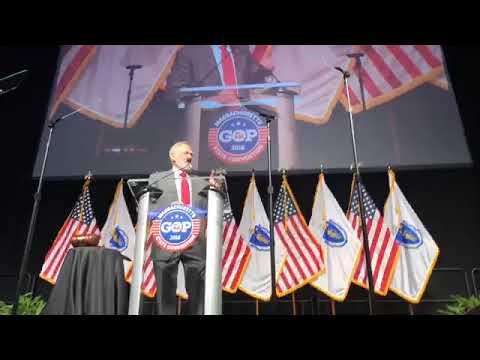 AntiLGBT Springfield pastor Scott Lively slams Gov. Charlie Baker as MassGOP convention