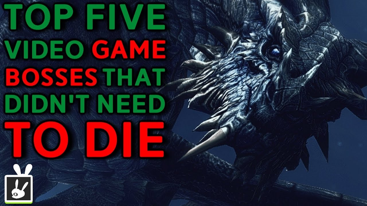 Top Five Video Game Bosses That Didn T Need To Die Youtube