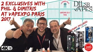 2 Exclusives with Phil Busardo & Dimitris at Vapexpo Paris with G Class Giveaway