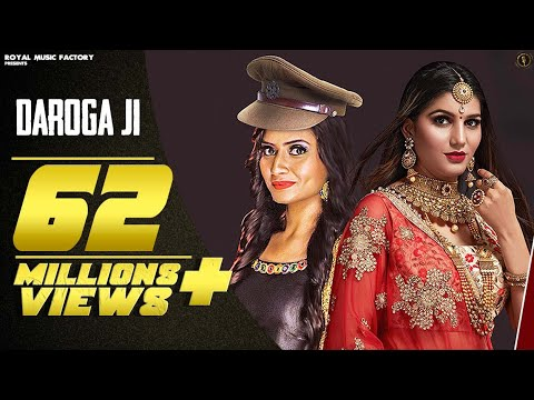 Sapna Choudhary - DAROGA JI ( official video) | Ruchika Jangid | New Haryanvi Songs Haryanavi 2019