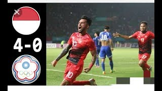 Download Video INDONESIA u-23 vs China Taipei u-23 (4-0) Highlight ASIAN GAMES 2018 MP3 3GP MP4