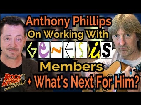 Anthony Phillips On Working With Peter Gabriel & What's Next For Him