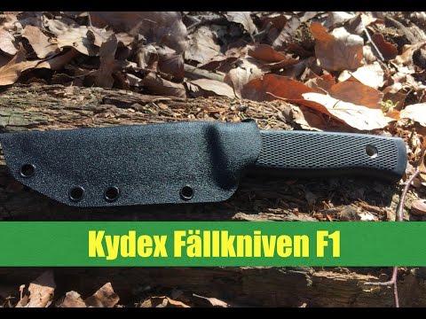 Kydex Sheath for Fallkniven F1 Kydexscheide