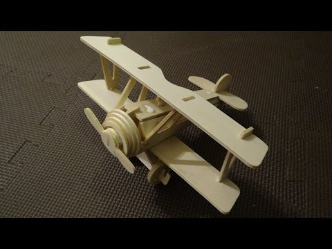 Wooden Airplane DIY!! Cool toy!