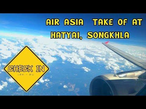 DDC.2 TAKE OFF AIR ASIA @HATYAI, SONGKHLA