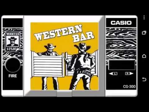 Western Bar Retro Game