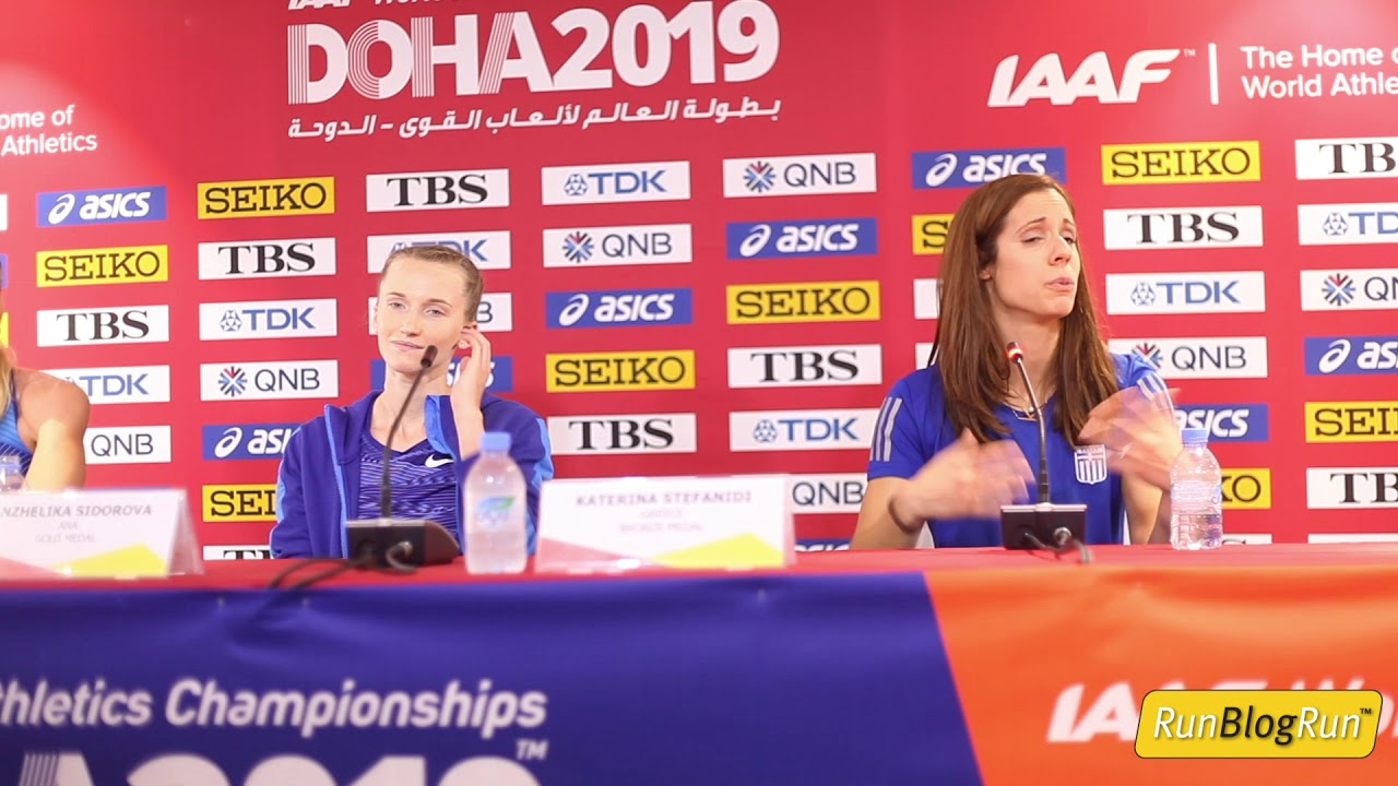 Doha WC 2019 - Women's  Pole Vault Final Press Conference