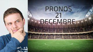 PRONOSTICS DU 21 DECEMBRE / EVERTON - ARSENAL / PSG - AMIENS / INTER - GENOA