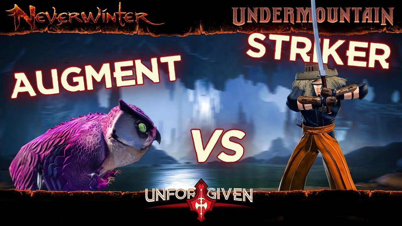 Neverwinter Mod 16 - Augment Companion vs Striker Companion v1 Undermountain Barbarian (1080p)