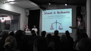 Abdullah Uwe Wagishauser über Staat und Scharia in Buxtehude