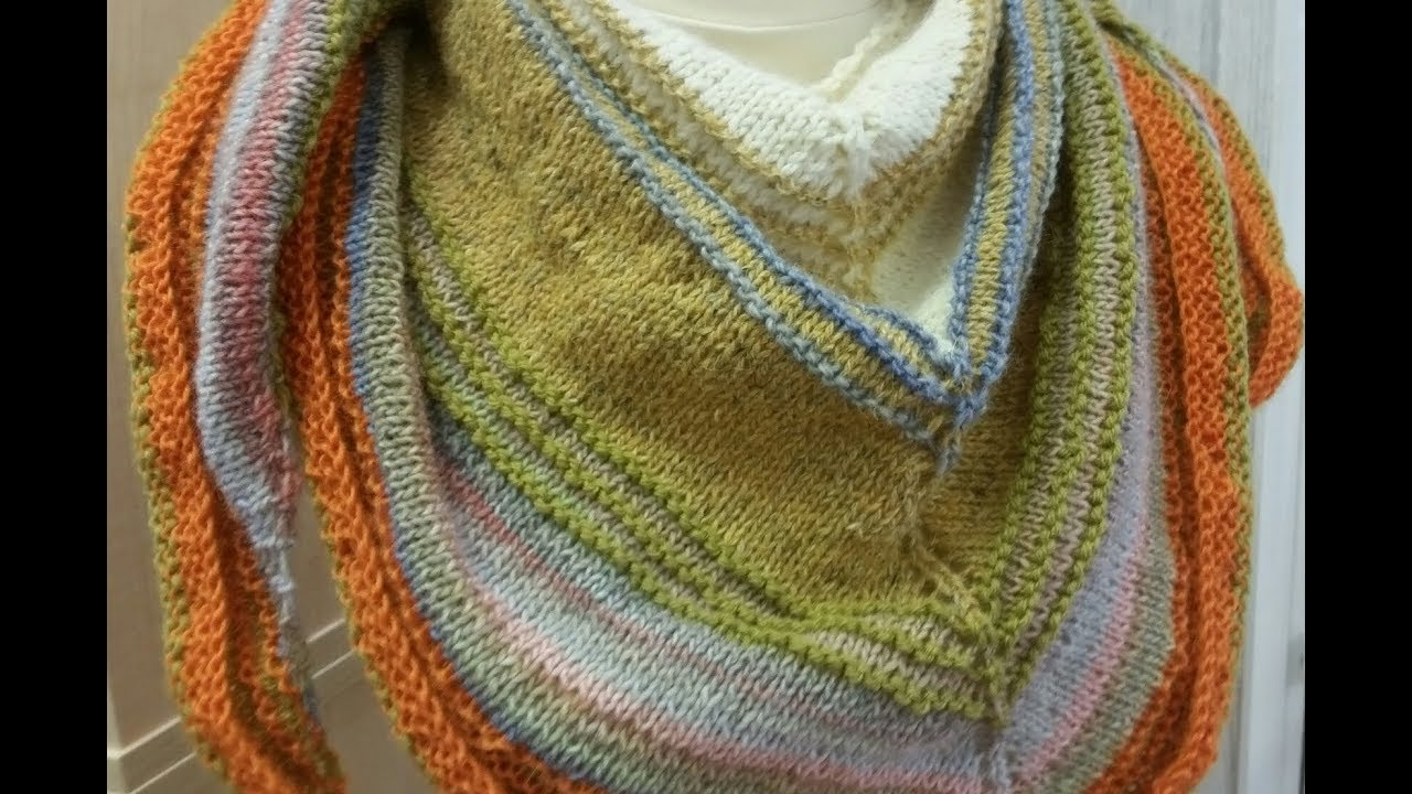 d4f5da7a93f3 Part 1- Blocking your knitted shawl - YouTube
