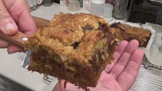 Delicious and Easy Old Fashioned Date Square Recipe