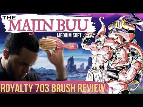 360 Waves: Royalty 703 Brush Review - The Majin Buu Medium Soft Brush (14 of 52)