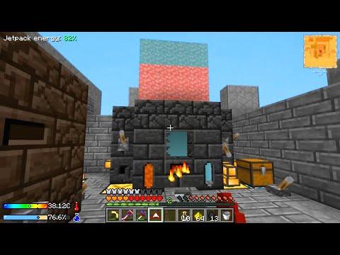 Minecraft - Crash Landing #21: ME Network Center