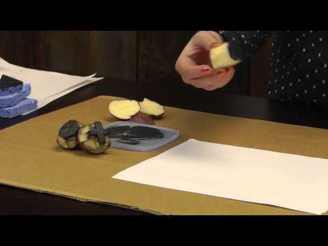 Potato Prints & More DIY Block Prints