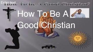 Video how to be a good christian - black hebrew Israelites - the israelites: black hebrew israelites download MP3, 3GP, MP4, WEBM, AVI, FLV Desember 2017
