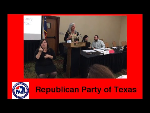 Republican Party of Texas Live Stream
