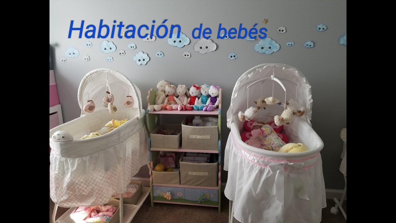 HABITACION PARA BEBE REBORN / ROOM TOUR MUEBLES/ ROPA/ BIBI/ CUNA ...