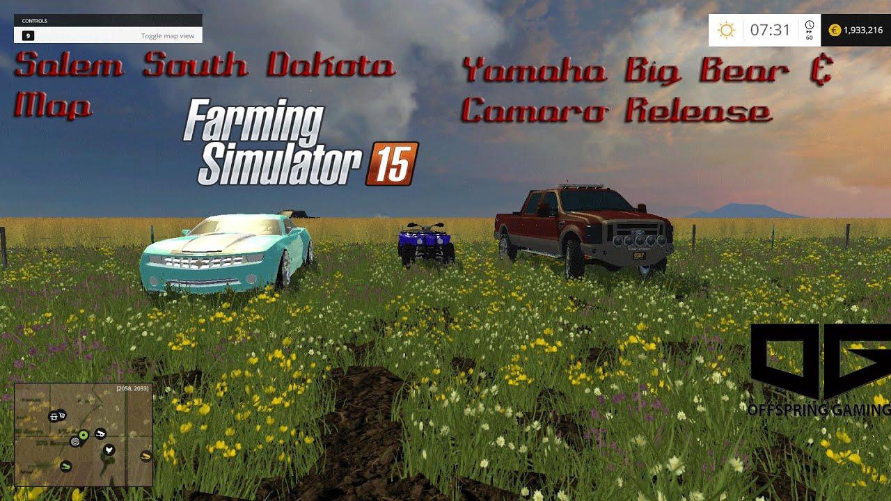 Farming simulator 2015 salem south dakota map and offspring gaming camaro big bear release youtube