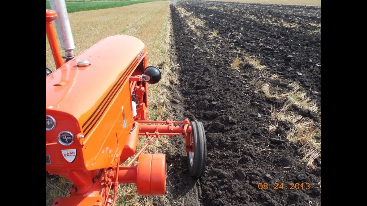 Case Vac Plowing : Case vac plowing with a s mounted plow