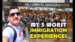 My 5 Worst Immigration Experiences on Pakistani Passport