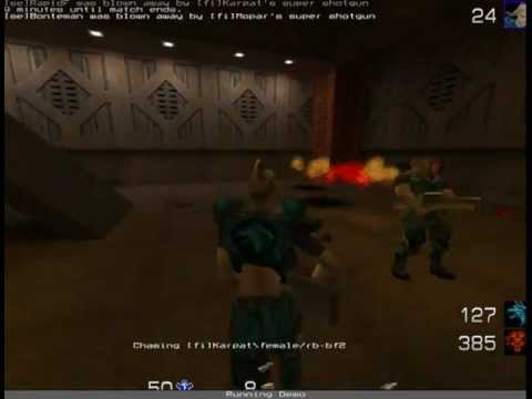 Finland vs Sweden - Quake 2 LMCTF Match #3