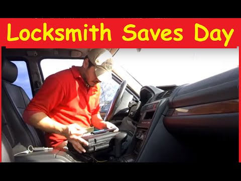 Removing Broken Key in Ignition Locksmith ~ Daily BTS Work Volg