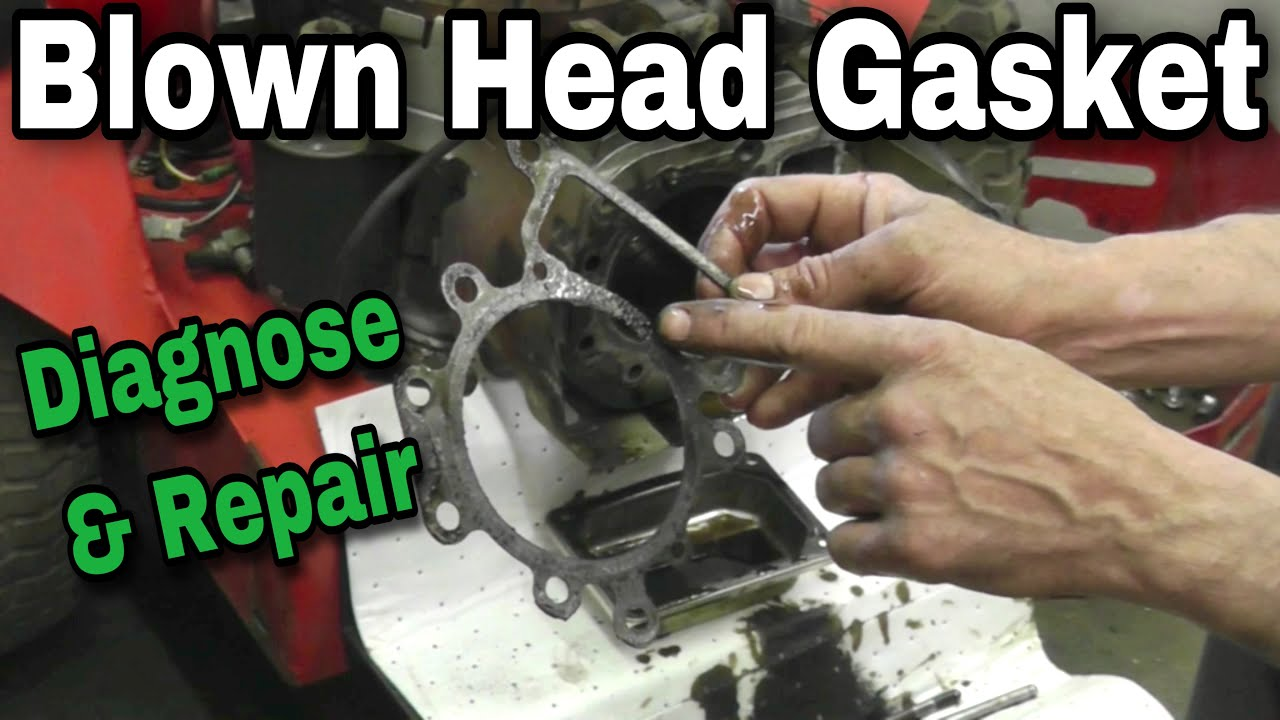 How To Diagnose And Properly Repair A Blown Head Gasket On Overhead Rover 25 Stereo Wiring Diagram Valve Engine Ohv With Taryl Youtube