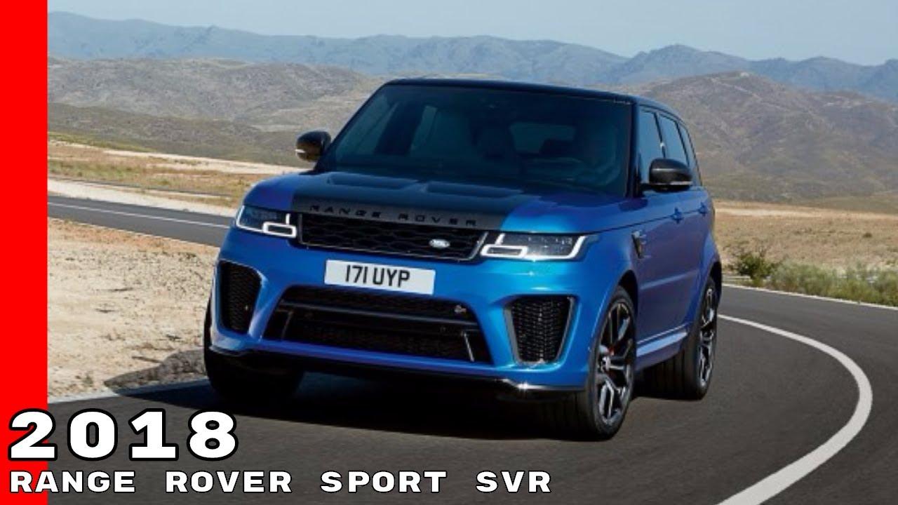 2018 land rover svr. modren land 2018 range rover sport svr with land rover svr