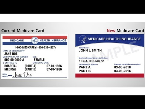 New medicare card 2018 youtube new medicare card 2018 ccuart Image collections