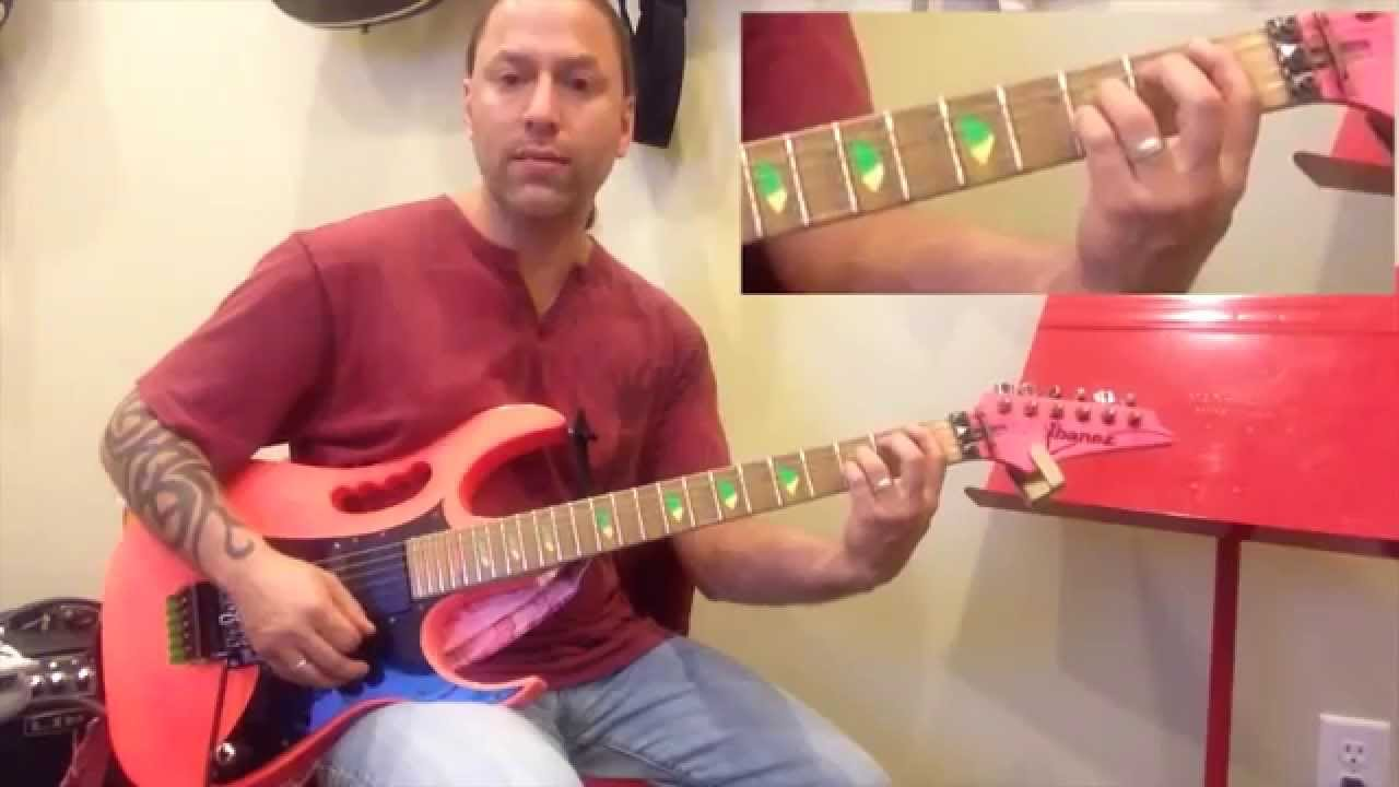 steve stine guitar lesson learn how to play summer of 39 69 bryan adams youtube. Black Bedroom Furniture Sets. Home Design Ideas